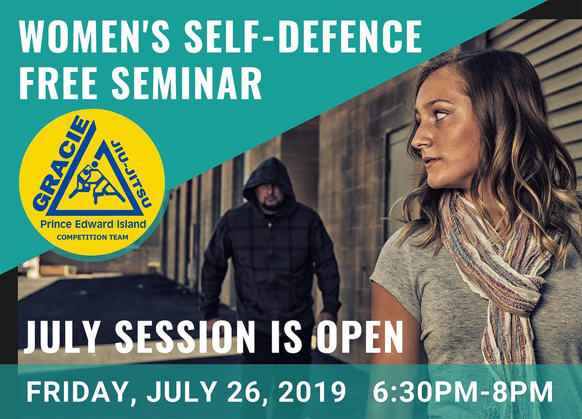 Women's Self-Defence Gracie PEI