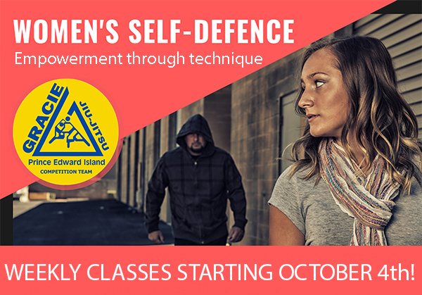 Gracie PEI Women's Self-Defence